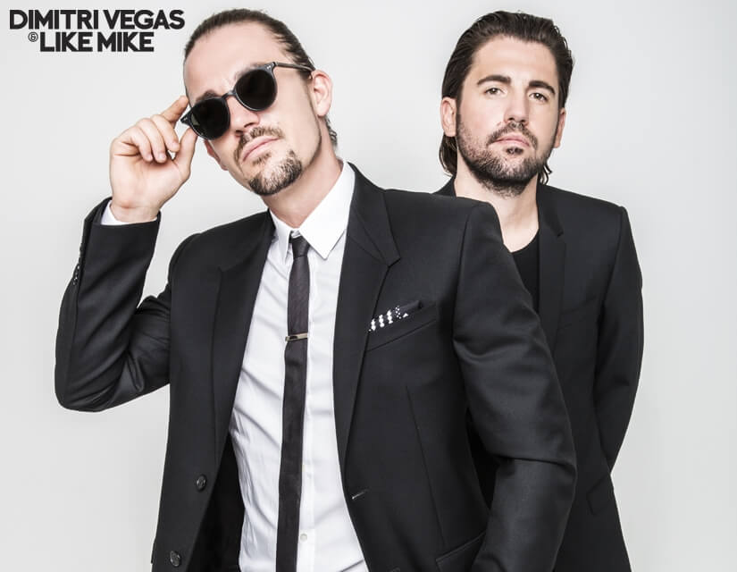 photographed by : Dimitri Vegas & Like Mike Press